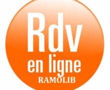 """NOUVEAUTE :               """"RAMOLIB""""          VOTRE PRISE DE RDV EN LIGNE"""
